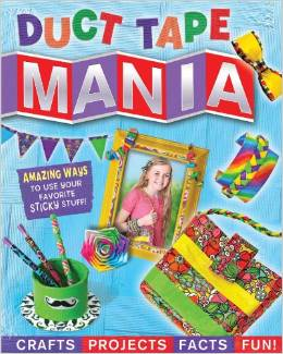 Duct Tape Mania diy tape gifts kids can make for teachers