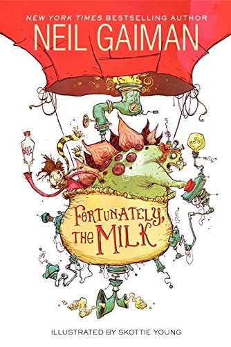 FORTUNATELY the Milk funny books for kids