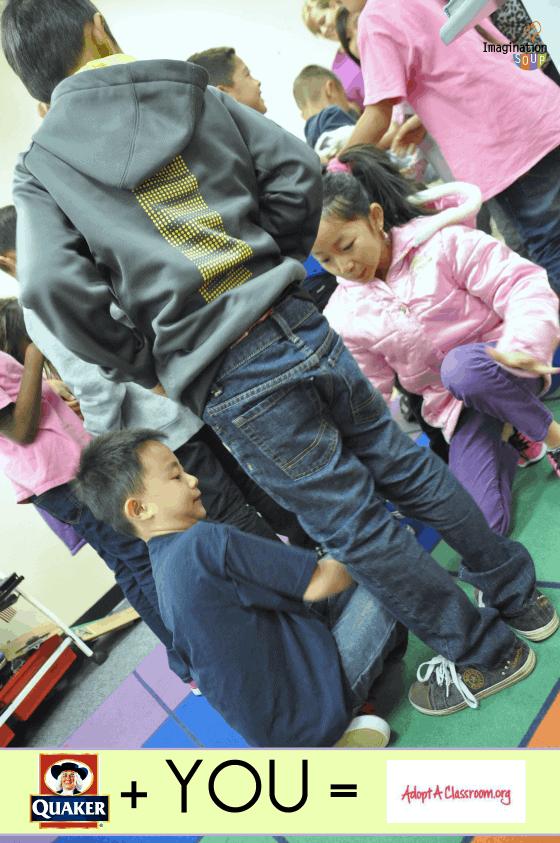 Help QuakerOats and AdoptAClassroom