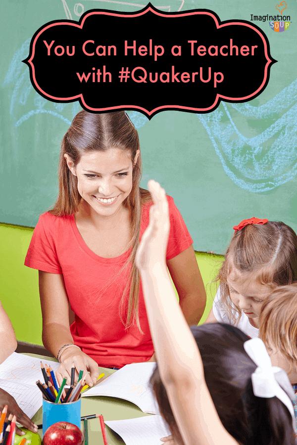 Help a Teacher with #quakerup