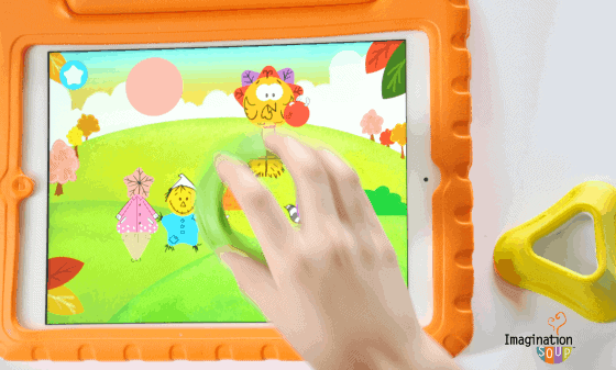 Tiggly preschool math app