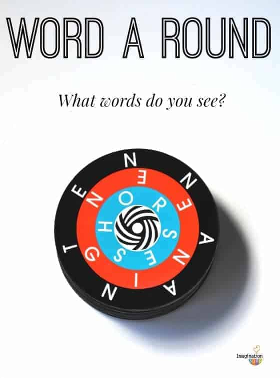 Word a Round Game for Kids