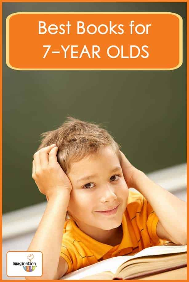 best book list for 7 year olds by Melissa Taylor of Imagination Soup