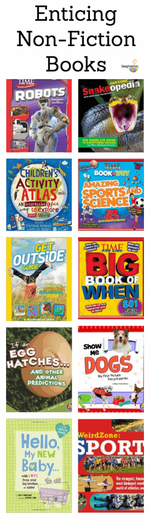 enticing non-fiction books for kids