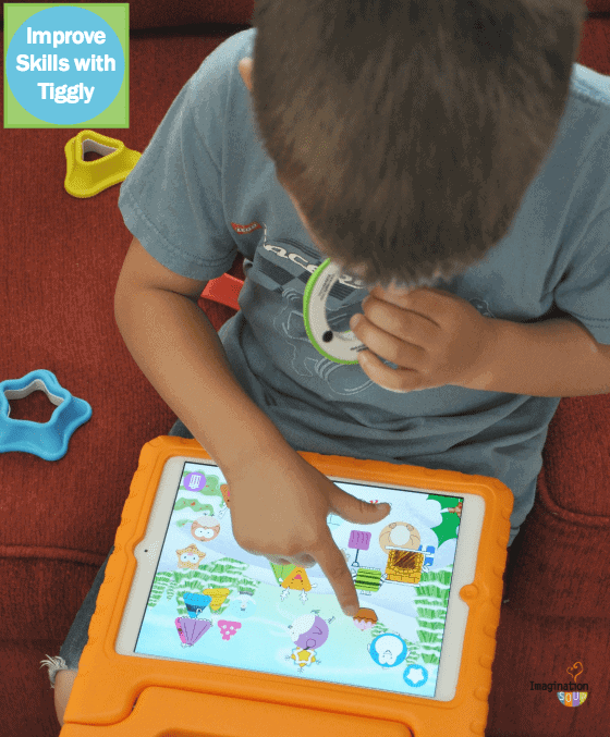 improve skills with Tiggly toys and apps