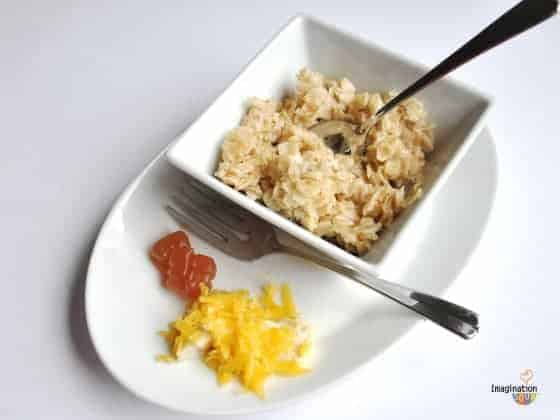oatmeal and eggs
