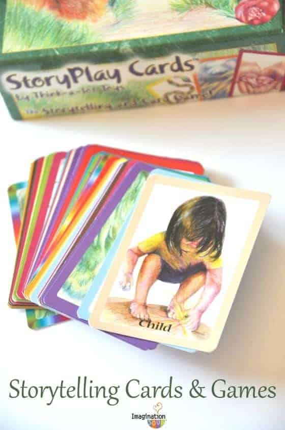 storytelling cards & games