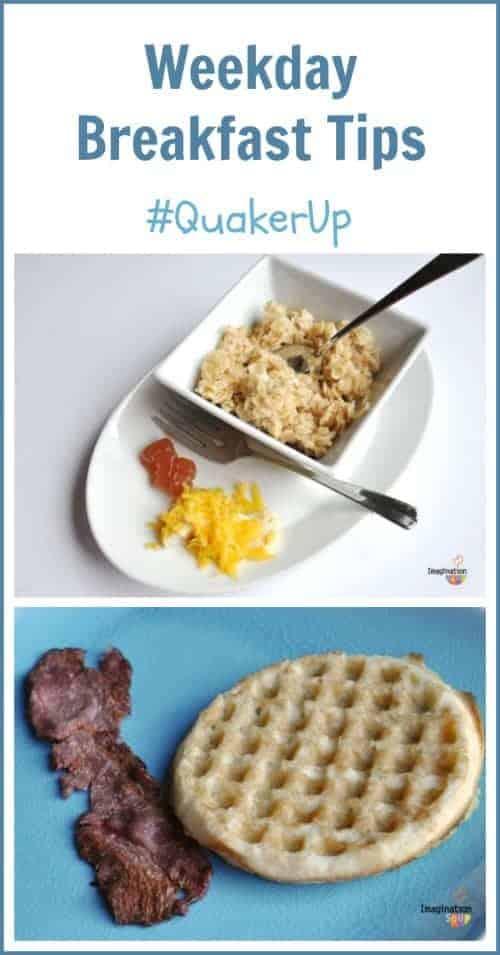 weekday breakfast tips #quakerup