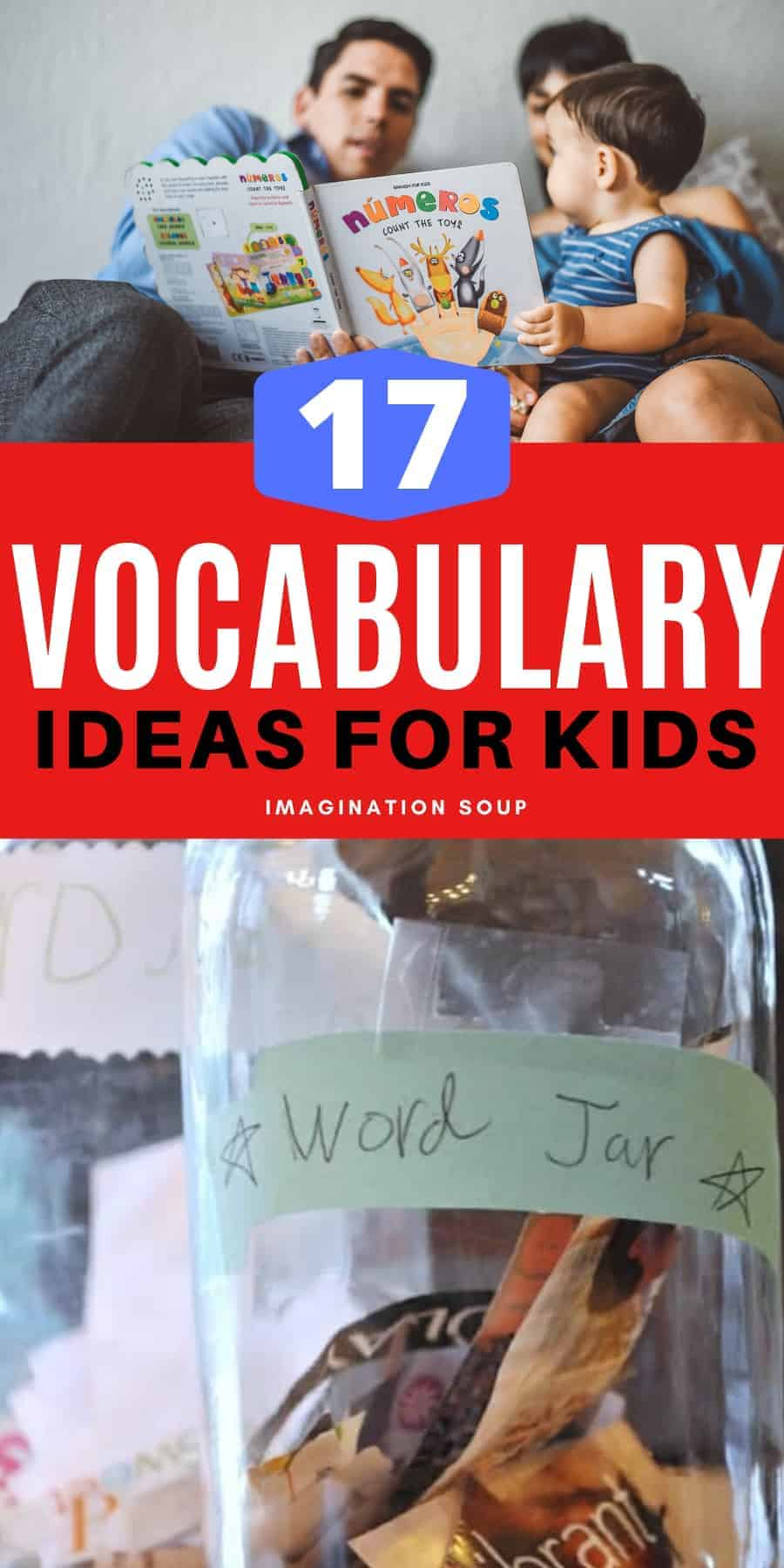 17 vocabulary ideas for kids to learn new words