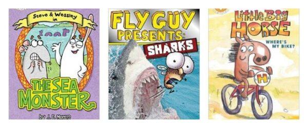 Entertaining NEW Early Reader Books