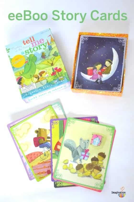 Tell Me a Story cards for storytelling