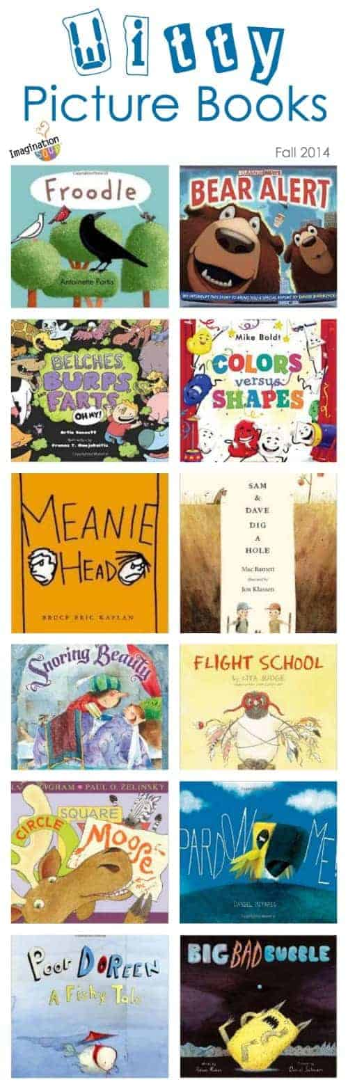 Funny Picture Books for Kids, Fall 2014