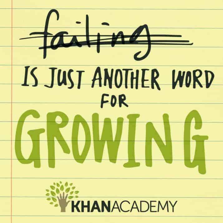 failing growth mindset