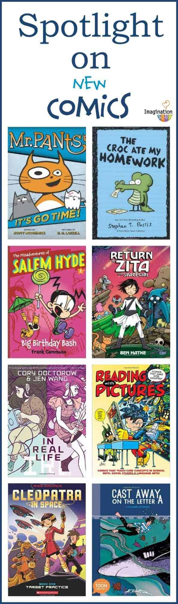 new recommended comic books your kids will love