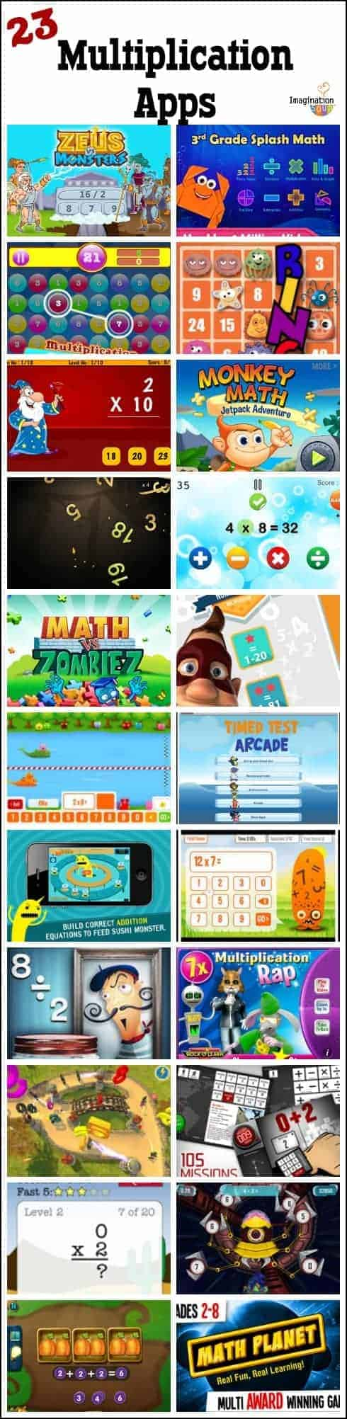 23 Best Multiplication Apps for Kids | Imagination Soup