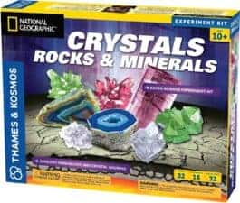 Crystals, Rocks, and Minerals