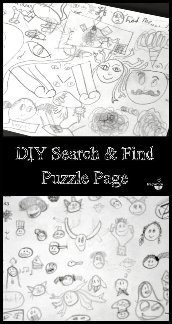 fun kids drawing activity -- Draw a Search and Find Puzzle! (plus a book list)