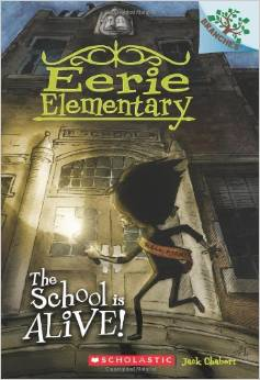 Eerie Elementary book list for 8 year olds