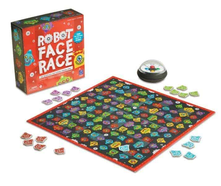 Robot Face Race Review - educational games