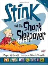 Stink and the Shark Sleepover recommended realistic chapter books for kids