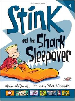 Stink and the Shark Sleepover book list for 7 year olds 2nd grade