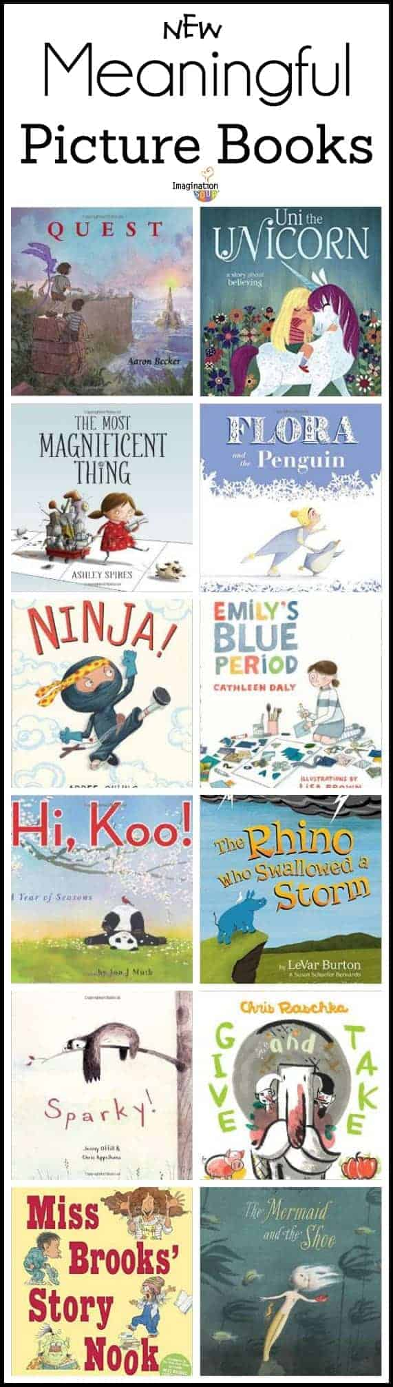 new meaningful picture books