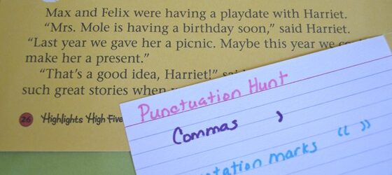 Punctuation Hunt
