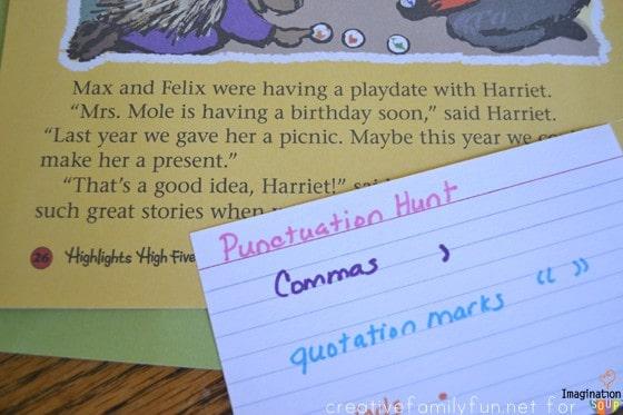 Punctuation Hunt