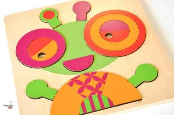P'Kolino Wooden Puzzles for Preschoolers