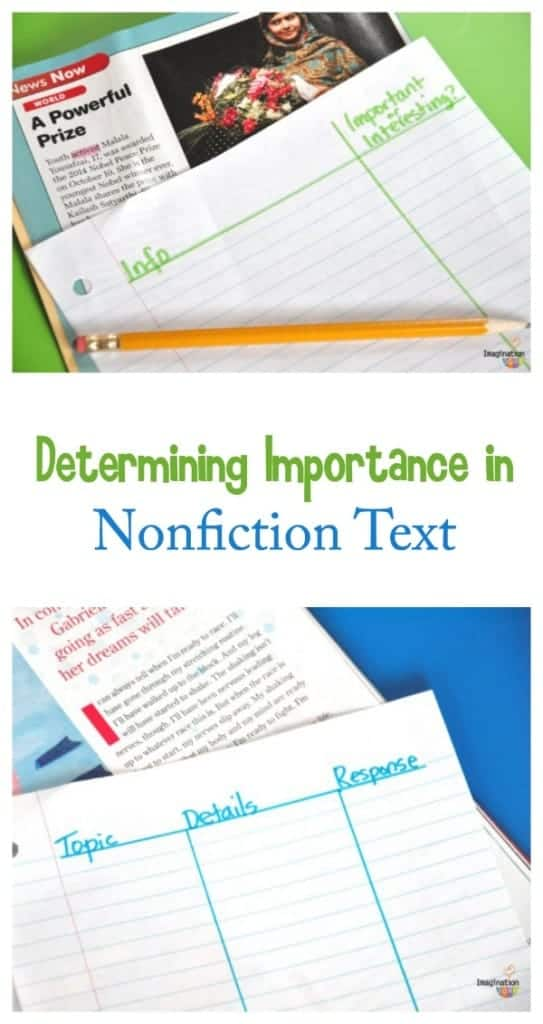 Determining Importance in Nonfiction