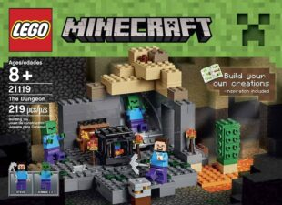 LEGO Dungeon Minecraft 9 year old boys