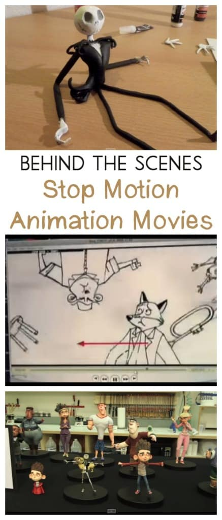behind the scenes stop motion animation movies