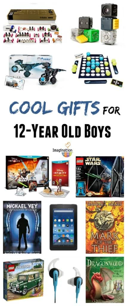 cool gift ideas for 12 year old boys