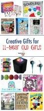creative gifts for 11-year old tween girls