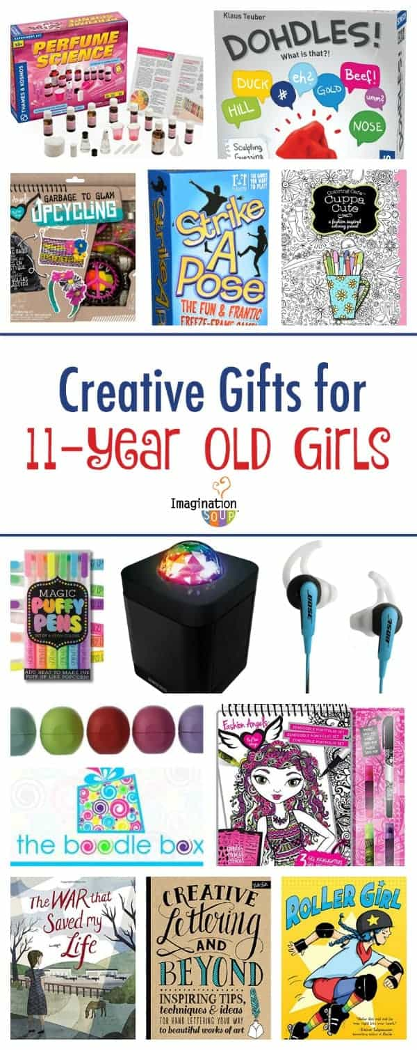Gifts for 11 year old girls imagination soup for Crafts for 10 year old birthday party