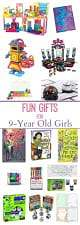 fun gifts for 9 year old girls