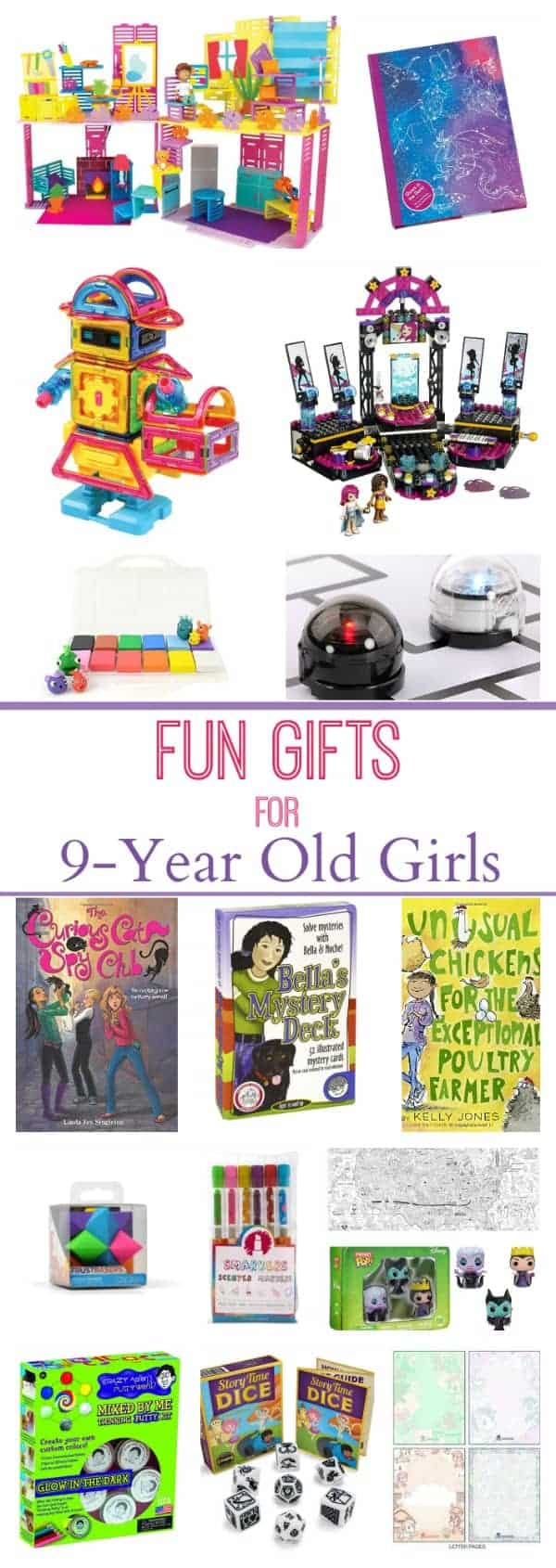 Toys For 9 Year Old Boys 2014 : Gifts for year old girls imagination soup