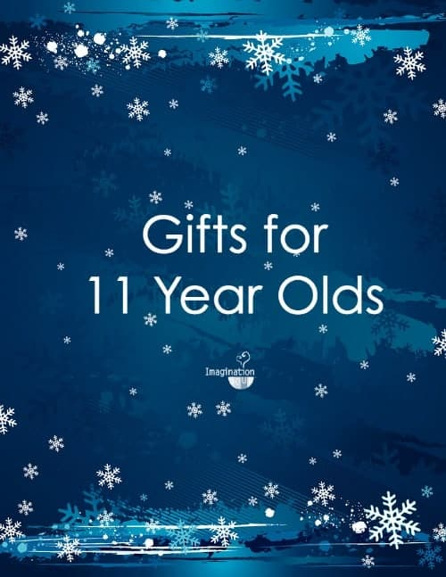 Find cool gifts for 11 year old girls including books, games, technology, and art kits.