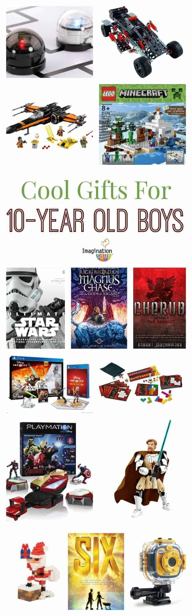 gifts for 10 year old boys | imagination soup
