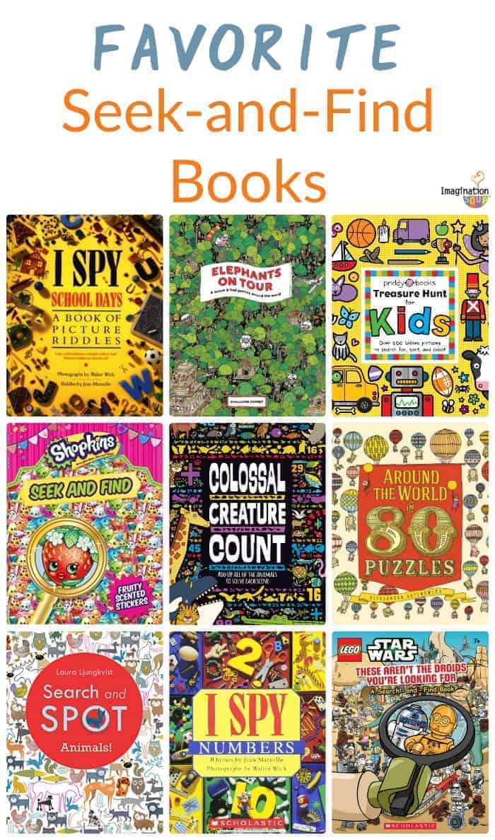 list of the best seek and find books for kids