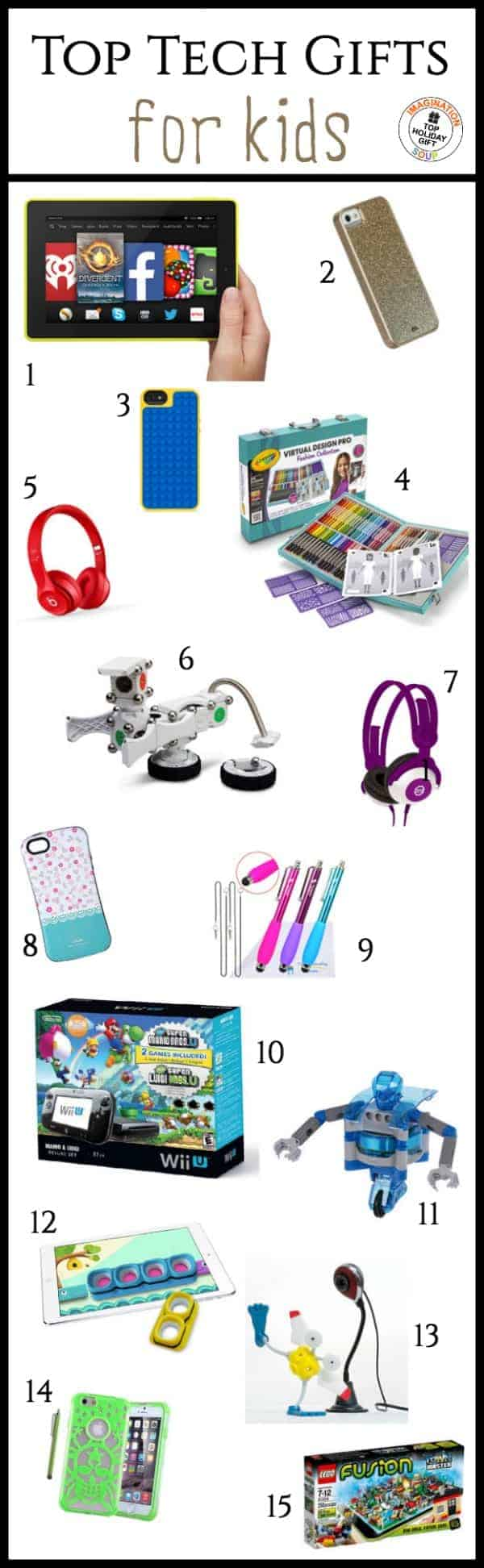 Best Educational Toys For Tech : Cool tech gifts for kids imagination soup