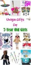 unique and cool gifts for 7-year old girls
