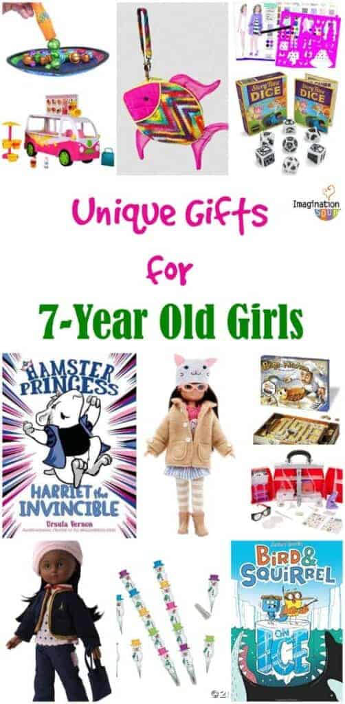 unique , cool gifts for 7-year old girls kids Christmas 2015 best ideas