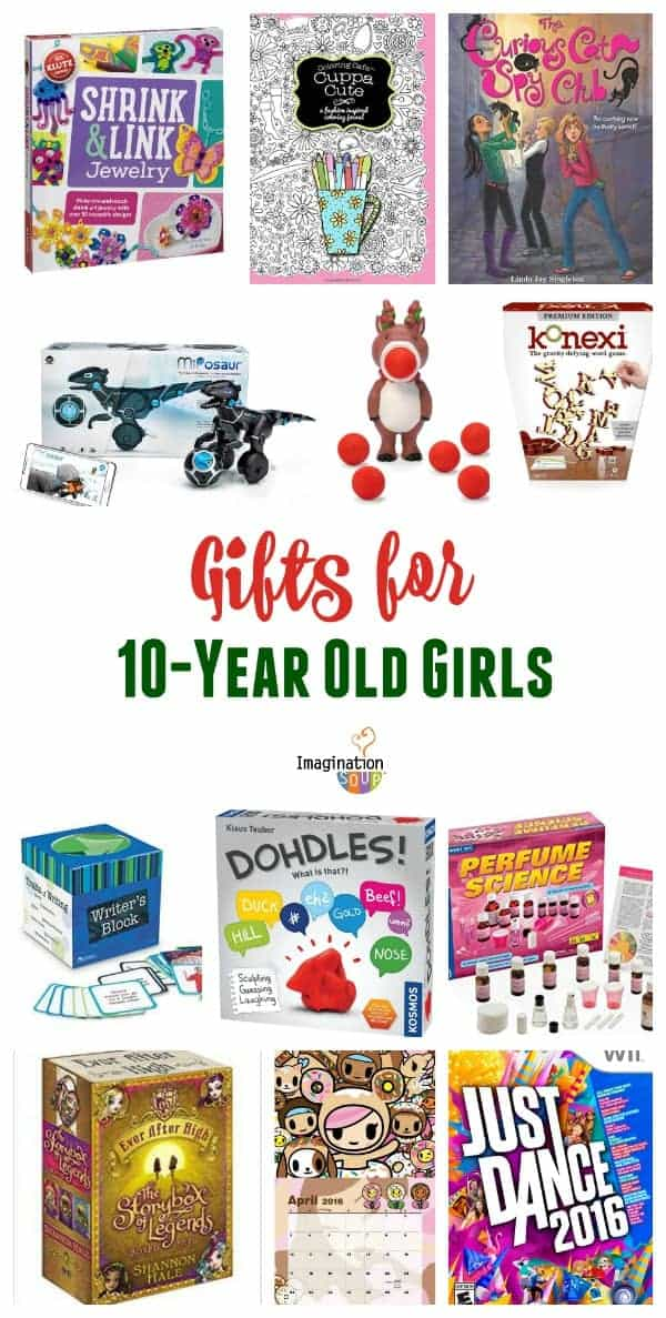 Gifts For 10 Year Old Girls Imagination Soup