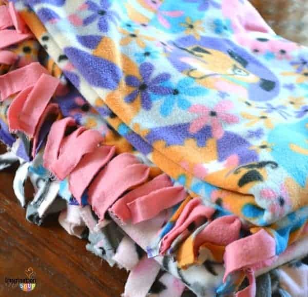 No Sew Fleece Blanket