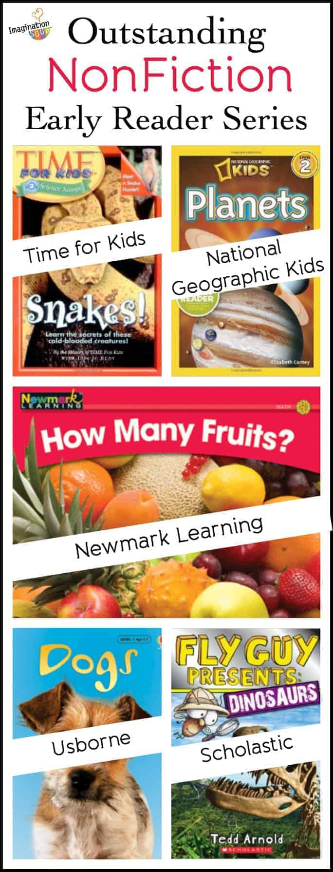 Outstanding NonFiction Early Reader Series