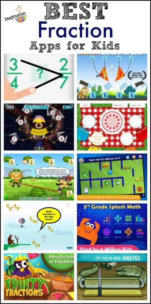 best fraction apps for kids