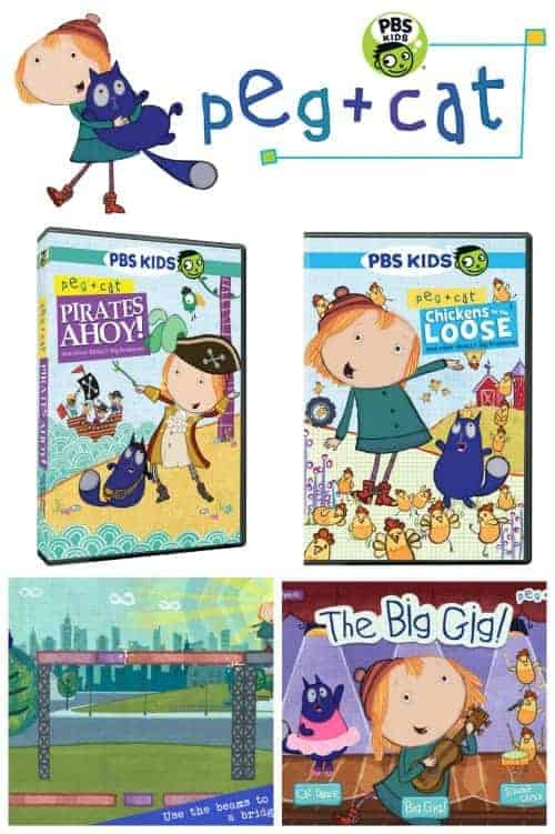 What's New from PBSKids' Peg + Cat Show