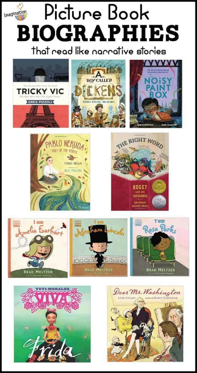 nonfiction picture book biographies