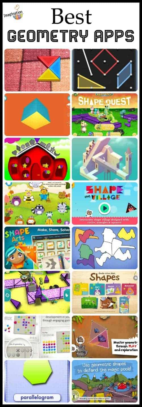the best geometry apps for kids